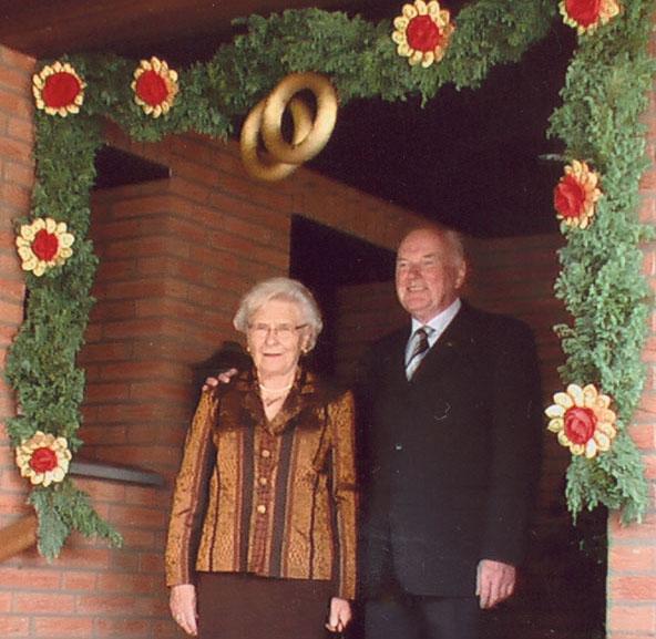 Goldene Hochzeit Kirchhof 2006